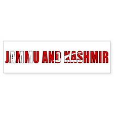 Jammu and Kashmir Bumper Sticker