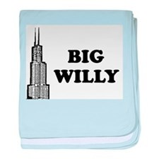 Big Willy baby blanket