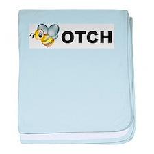 Bee-otch baby blanket