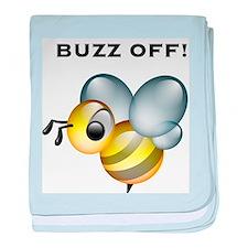 Buzz Off! baby blanket