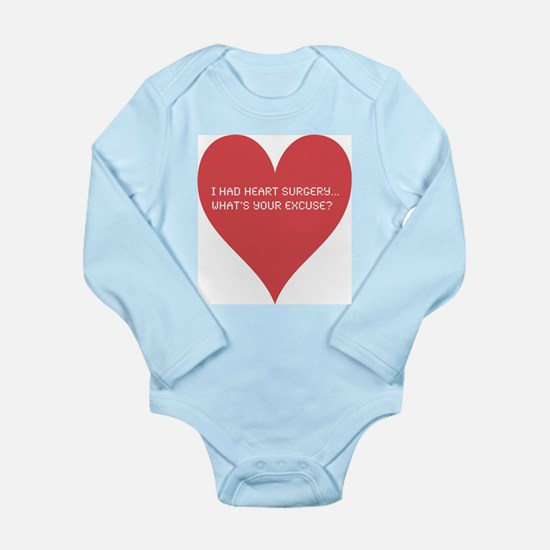 I had heart surgery, what's y Long Sleeve Infant B