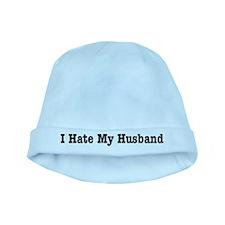 I Hate My Husband baby hat