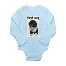 First Dog Bo Long Sleeve Infant Bodysuit