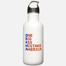 Obama: One Big Ass Mistake Am Water Bottle