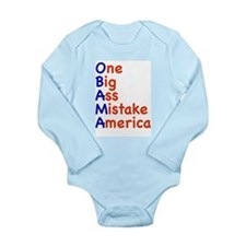 Obama: One Big Ass Mistake Am Long Sleeve Infant B