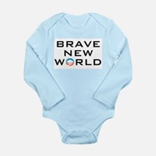 Brave New World Long Sleeve Infant Bodysuit