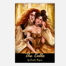 The Cello Postcards (Package of 8)