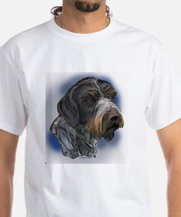 German Wirehaired Pointer Por Shirt