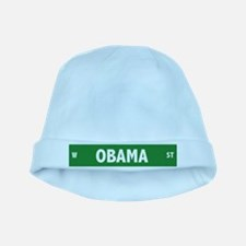Obama Street Sign baby hat
