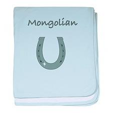 mongolian baby blanket