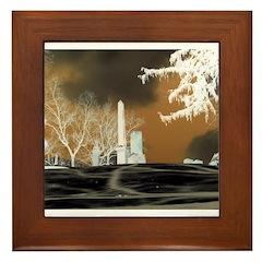 cemetary Framed Tile