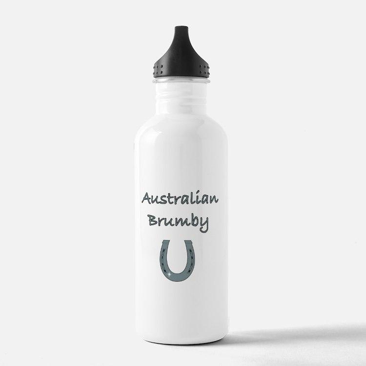 Australian Brumby Horses Water Bottle