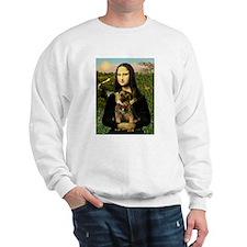 Mona & her Border Terrier Sweatshirt