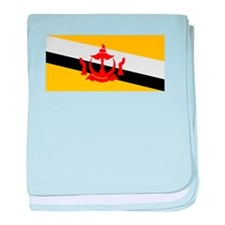 Brunei Country Flag baby blanket