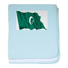 Comoros Country Flag baby blanket