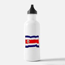 Costa Rica Flag Water Bottle