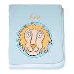 Leo Astrology 4 baby blanket