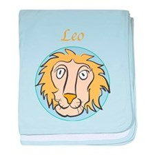 Leo Astrology 4 baby blanket