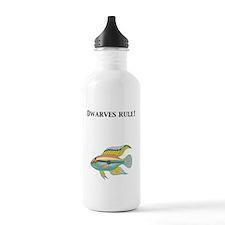 Cichlid Dwarves Rule! Water Bottle
