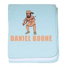 Daniel Boone baby blanket