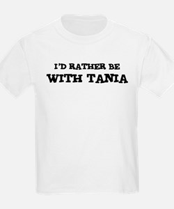 With Tania Kids T-Shirt