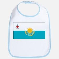 Kazakhstan Naval Ensign Bib