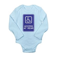 Access At Rear Handicapped Si Long Sleeve Infant B