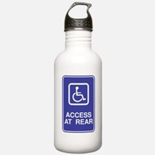 Access At Rear Handicapped Si Water Bottle