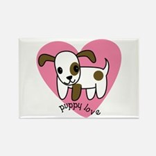 Puppy Love Rectangle Magnet