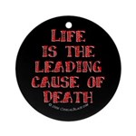 Life and Death Ornament (Round)