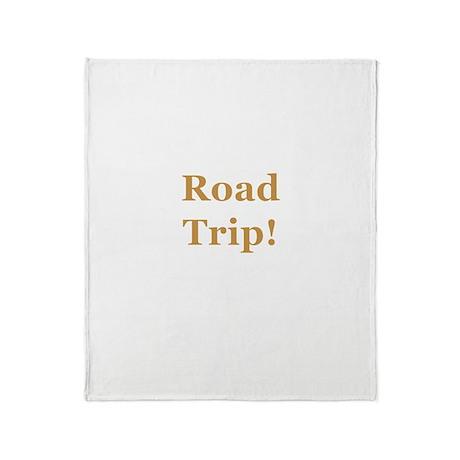 Road Trip! Throw Blanket