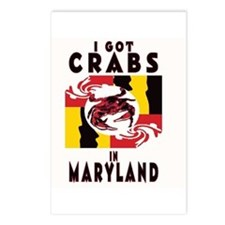 I Got Crabs in Maryland Postcards (Package of 8)