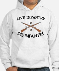2nd Bn 16th Infantry Jumper Hoody