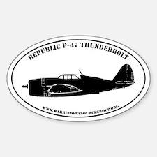 Profile Sticker #7: Republic P-47D Thunderbolt