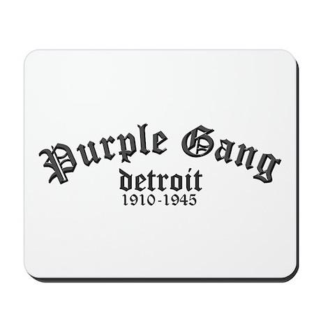 Purple Gang Mousepad