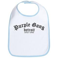 Purple Gang Bib