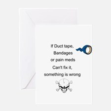 Something Is Wrong Greeting Card