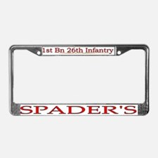 1st Bn 26th Infantry License Plate Frame