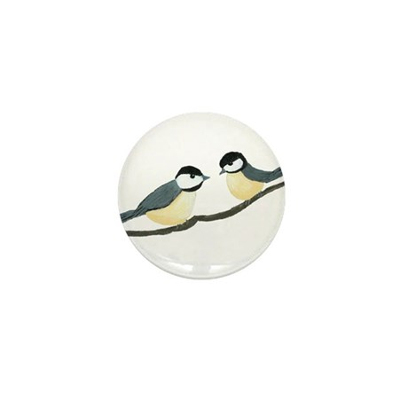 Chickadees Mini Button (10 pack)