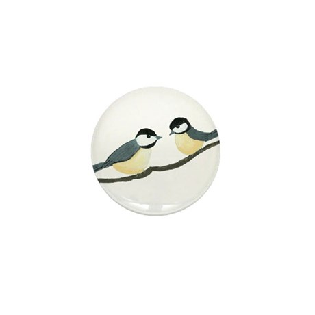 Chickadees Mini Button