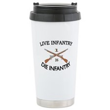 1st Bn 26th Infantry Travel Mug