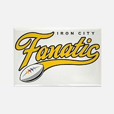 Iron City Fanatic Rectangle Magnet