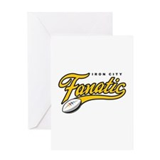 Iron City Fanatic Greeting Card