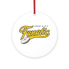 Iron City Fanatic Ornament (Round)
