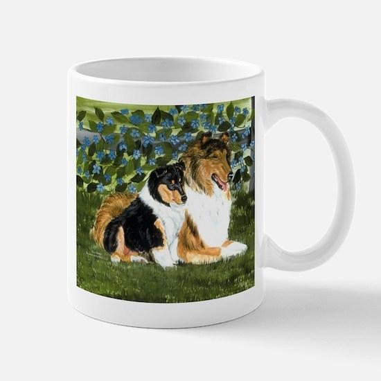 Rough Collie Mom and Pup Mug