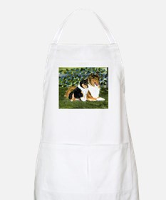 Rough Collie Mom and Pup Apron
