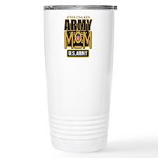 Proud Army Mom Travel Coffee Mug
