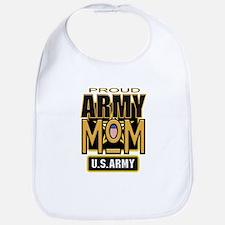 Proud Army Mom Bib