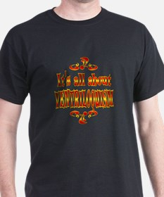 About Ventriloquism T-Shirt