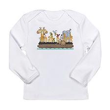 Noah's Ark Long Sleeve Infant T-Shirt